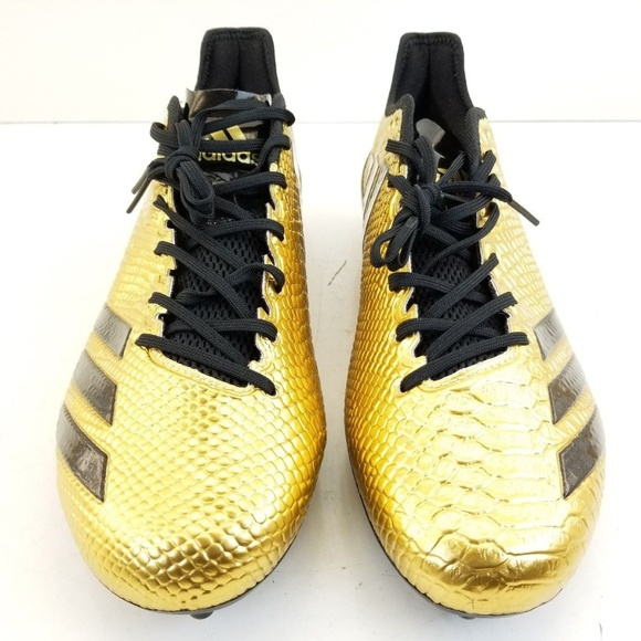 san francisco 43b94 a0114 Adidas Adizero 5 Star 6.0 Gold Snakeskin Football